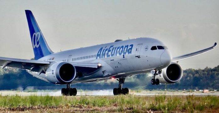 Air Europa retomará voos entre Madri e Salvador em julho