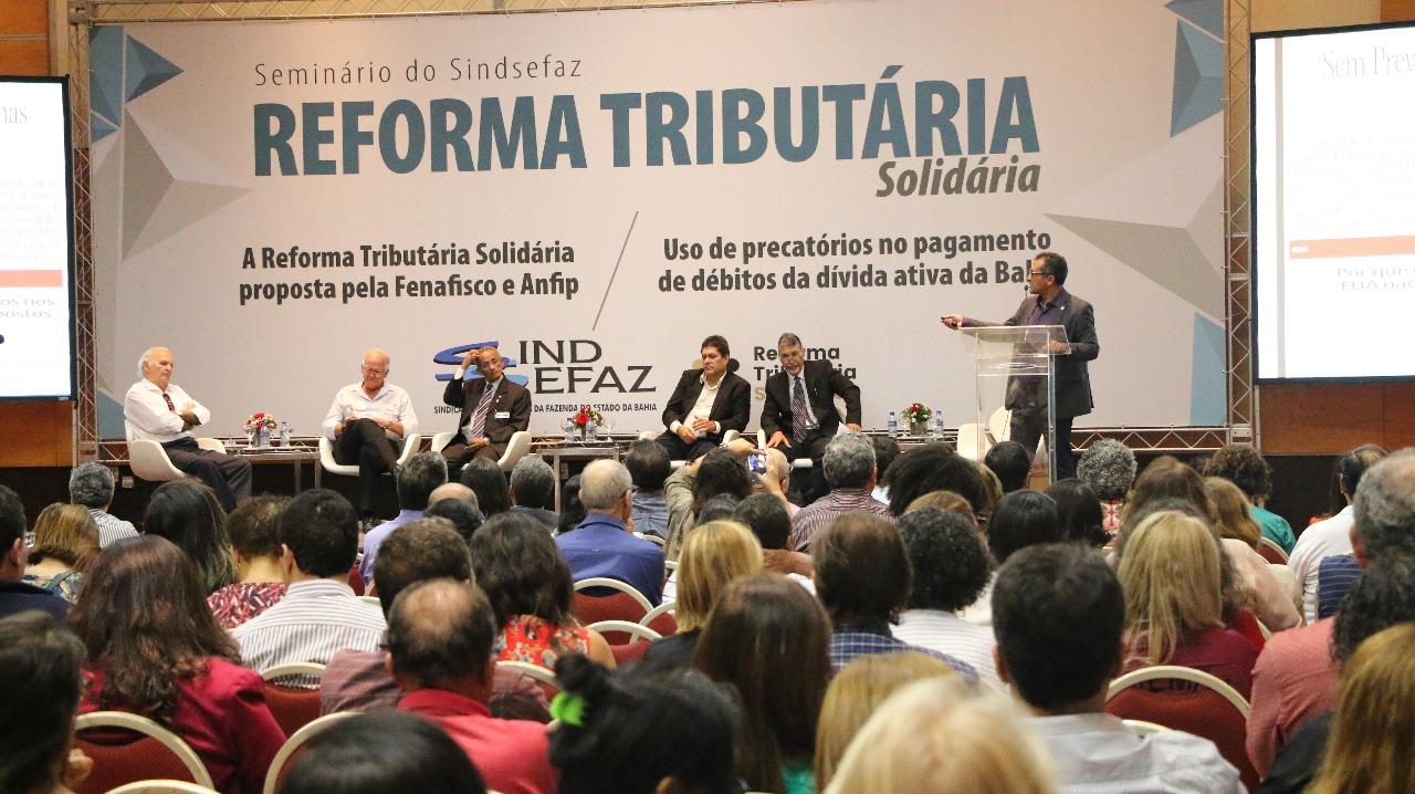 Fazendários debatem reforma tributária solidária e precatórios