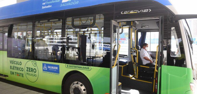 Prefeitura inicia testes com ônibus elétricos em linhas do BRT