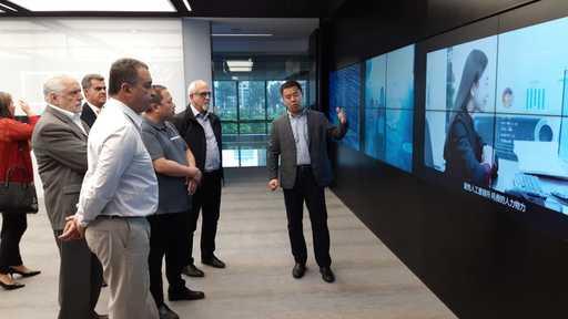 Rui vê em Pequim sistema de reconhecimento facial de empresa chinesa