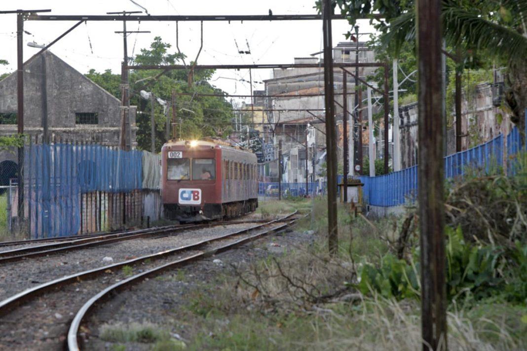 Trem do Sub�rbio deixa de operar para o in�cio das obras do VLT