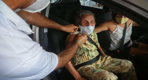 Salvador ultrapassa 100 mil pessoas vacinadas contra Covid-19