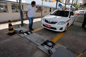Ibametro convoca taxistas para verificação de taxímetro