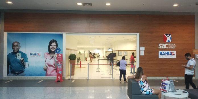 SAC altera hor�rio de atendimento de postos em shoppings de Salvador