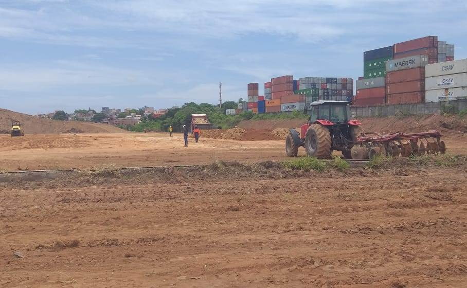 Constru��o da Nova Rodovi�ria � iniciada no bairro de �guas Claras