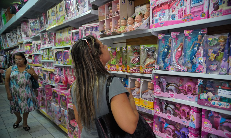 Presentes e serviços para o Dia das Crianças sobem 3,2 por cento