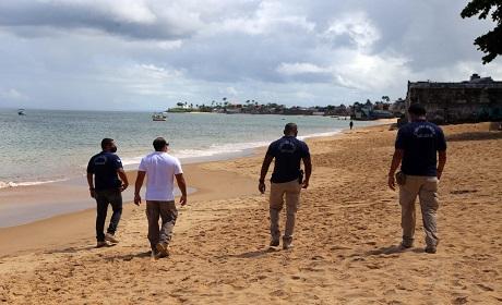 Guarda Civil Municipal reforçará fiscalização nas praias para o feriadão