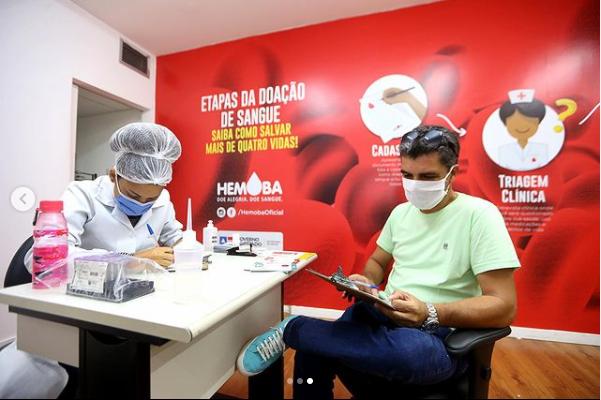 Hemoba abre unidade de coleta em Salvador durante o feriado da Independ�ncia
