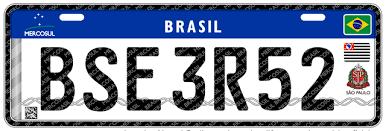 Contran adia para julho de 2019 novo modelo de placas do Mercosul