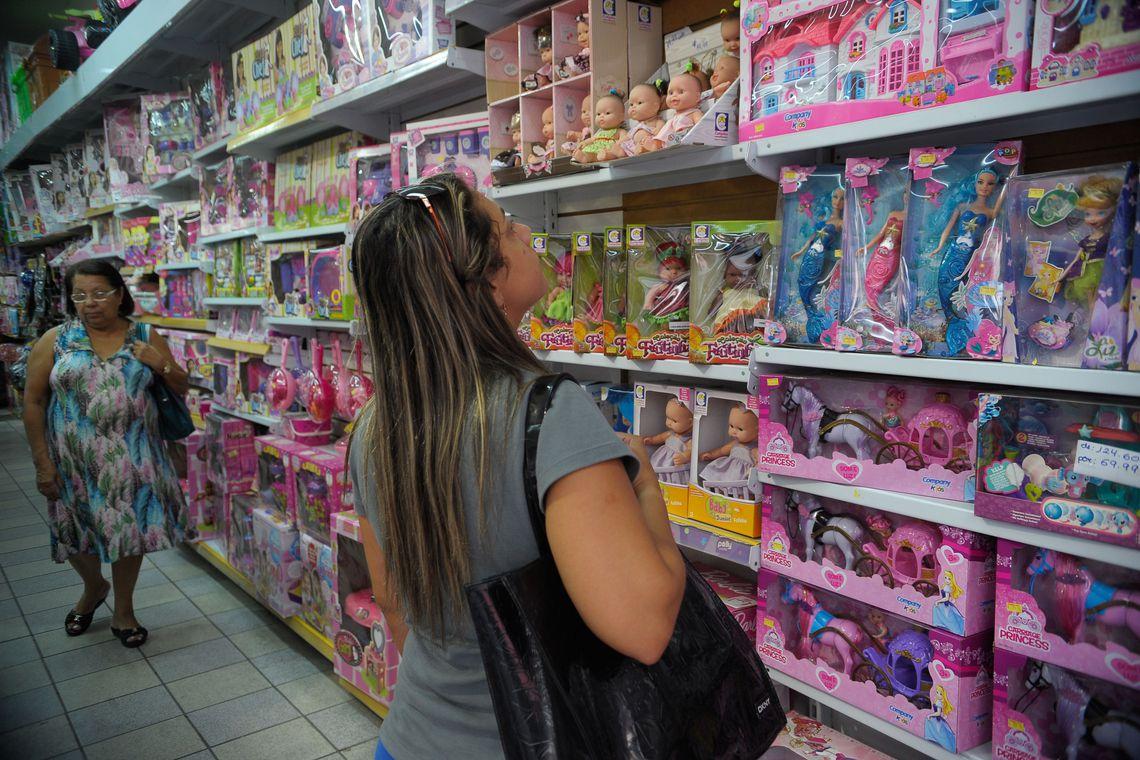 Lojistas preveem crescimento de vendas para o Dia das Crian�as