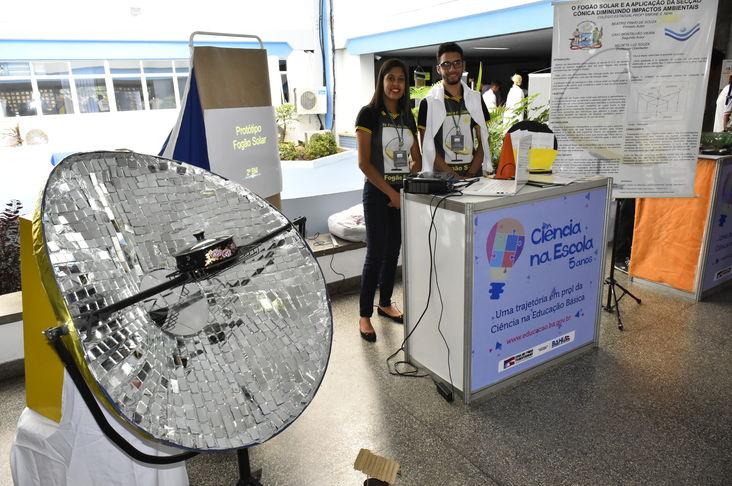 Estudantes apresentam inova��es e tecnologias sociais em Salvador