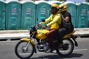 Credenciamento de mototaxistas será retomado no dia 22