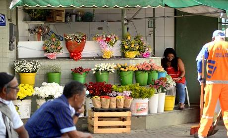 Rosas e orquídeas são as mais procuradas em mercado na Primavera