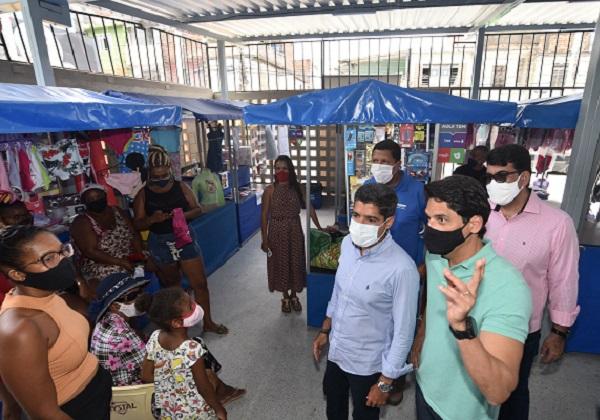 Fazenda Coutos ganha centro comercial para feirantes