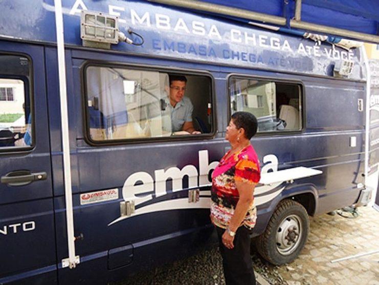 Embasa suspende corte nos casos de falta de pagamento
