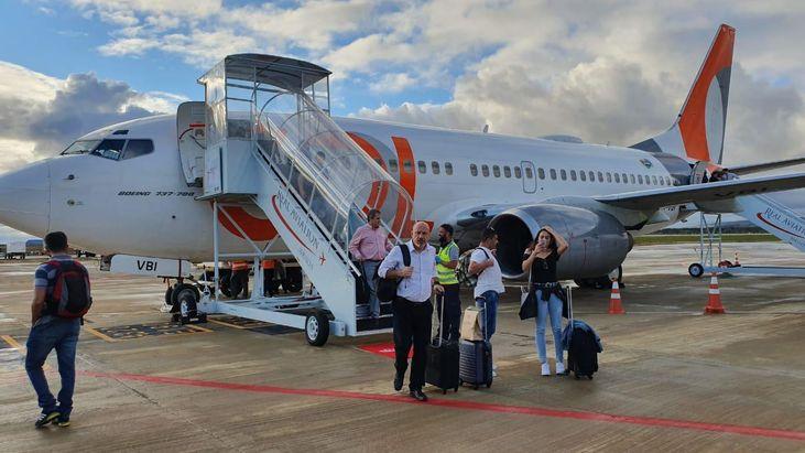 Novo voo da Gol amplia malha a�rea entre Guarulhos e Vit�ria da Conquista