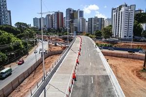 Prefeitura libera tr�fego em complexo de viadutos do BRT nesta segunda (23)