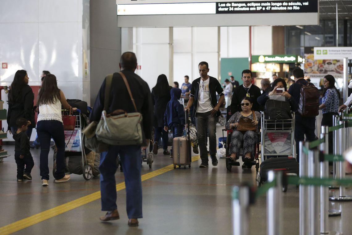 Feriad�o: movimento nos aeroportos da Infraero ser� menor que em 2017