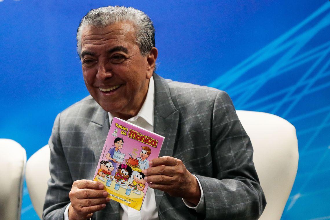 Embrapa lança revista da Turma da Mônica sobre consumo sustentável