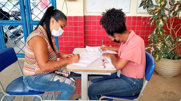 Nova etapa de matr�cula na rede estadual envolve Salvador e mais 29 munic�pios