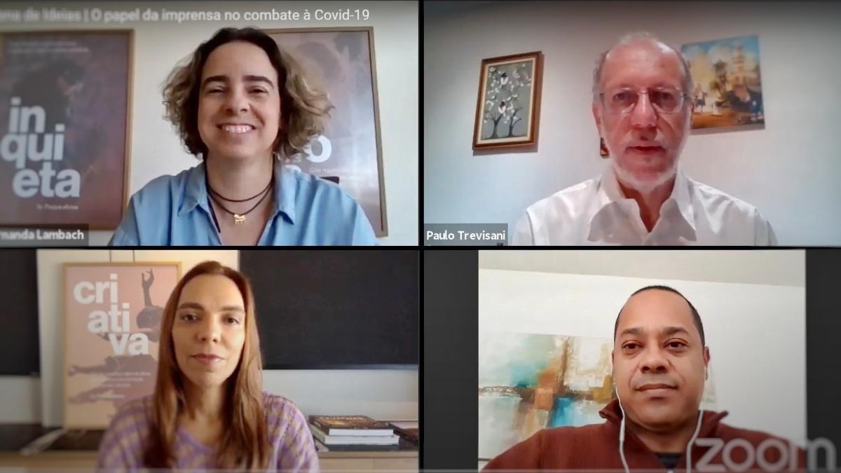 No Dia do Jornalista, profissionais destacam papel social durante a pandemia