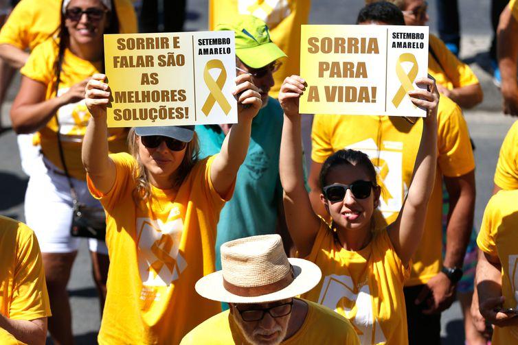 Setembro Amarelo ter� foco em preven��o do suic�dio entre os jovens