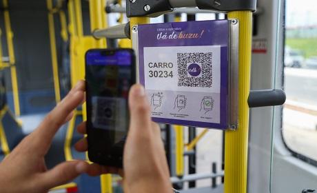 Aplicativo de transporte testado na Semana do Clima dispensa cart�es de passagem