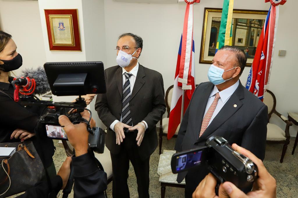Presidente da ALBA estreita di�logo institucional com poderes e sociedade