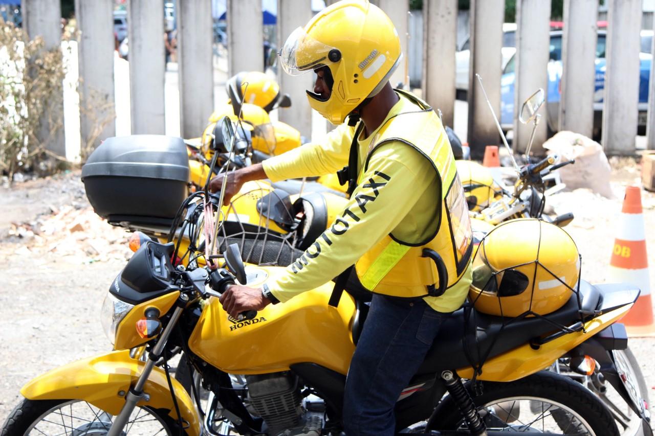 Vistorias para motot�xi come�am no pr�ximo dia 25