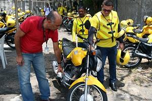 Credenciamento de mototaxistas vai at� dia 26 de junho