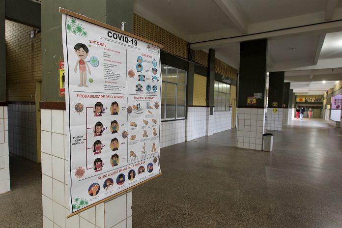 Investidos R$ 305 milhões na requalificação das escolas para retomada das aulas presenciais