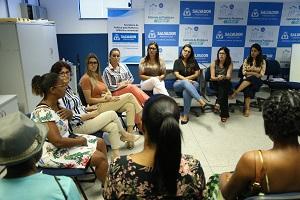 Projeto discute viol�ncia contra a mulher em Prefeitura-Bairro